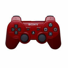 PlayStation 3 Red Controllers and Attachments