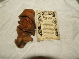 Nancy Tuttle 2010 original wood spirit Tree spirit SMC original wood carving