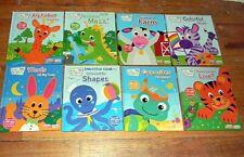 SET of 8 ~ BABY EINSTEIN ~ My Smart Pad ~ CHILDREN HARDCOVER BOOKS