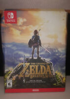 Legend of Zelda: Breath of the Wild - Special Edition (Nintendo Switch) NEW READ
