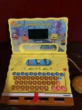 Vtech Spongebob Squarepants Laptop Talking Learning Electronic Toy EUC