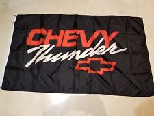 Chevrolet Thunder  NOS Original Showroom Banner 3 x 5 about 20 + years old