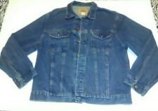 Gap Denim Jacket Blue L Vintage Stonewashed Style 80-3128 Authentic 6 Pockets