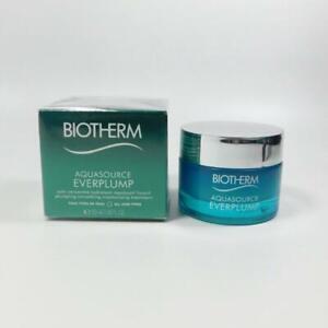 Biotherm Aquasource Everplump All Skin Types 1.69oz / 50ml *NEW IN BOX*