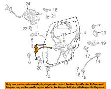 TOYOTA OEM 98-03 Sienna Side Sliding Door-Lock 6937008010