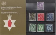 GB 1970 NORTHERN IRELAND DEFINITIVE £.s.d. PRESENTATION PACK No. 25 3d  to 1/6