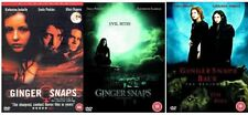 Ginger Snaps Trilogy 1-3 DVD PART 1 2 3Movie Film Collection Unleashed Beginning