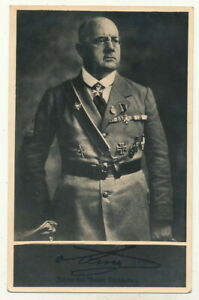 AK - Veteran evtl. Freikorps mit vielen Orden Gallipoli etc. -