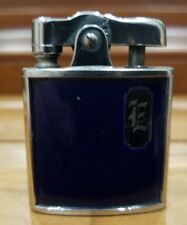 VINTAGE 1940s  Ronson De-Light Chrome & Enamal WORKING  lighter