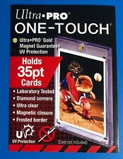 ULTRA-PRO ONE-TOUCH (35PT) Magnetic Hard Card Holder NEW & SEALED