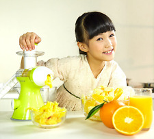 Hand Crank Juicer Fruit Vegetables Wheat Grass Green Juice Suction Base Fruit