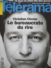 2510 CHRISTIAN CLAVIER LES VISITEURS II GRANDS PIANISTES DU XXe TELERAMA 1998
