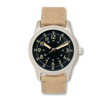 EAGLEMOSS AMERICAN PILOT 1960's REPLICA MILITARY WATCH #59 NEW IN BOX £4.99
