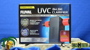 Fluval UVC Inline Clarifier for External Filters - Fluval 106-406/107-407 !NEW!