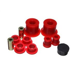 Energy Suspension 15.3120R Control Arm Bushing Set, Red For 12-14 VW Golf NEW
