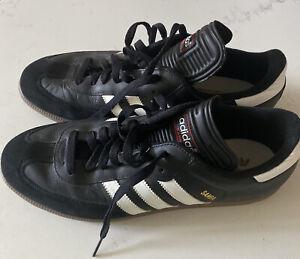 Men's Original Adidas Sambas Black Sz 11 New Without Box