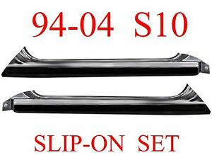 94 04 S10 Slip-On Rocker Set Chevy GMC, Blazer, Jimmy, Sonoma, Bravada, L&R PAIR