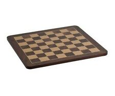"19"" Deluxe Polished Burl Veneer Wood Chess Board 2"" Square New"