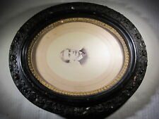"Gorgeous Victorian 11 x 13"" Oval Picture Frame for Restoration"