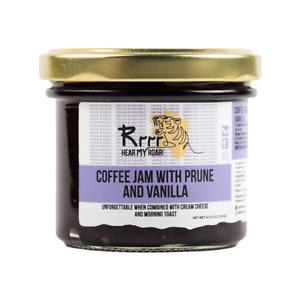 Coffee Jam with Prune and Vanilla Natural Vegan Tasty Marmalade Gluten Free