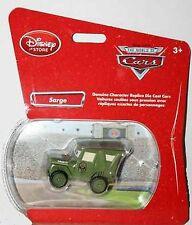 Disney Store Pixar Cars Exclusive Sarge Die Cast  Bubble package NEW