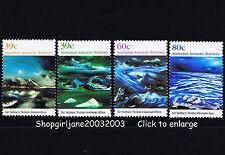 1989 - Australia -AAT Australian Antarctic Territory Landscapes - set of 4 - MNH