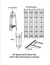 SPECIAL SERIES AMERICAN TOWER **NEW** W/ 3' BASE - 50 FOOT