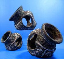 Egyptian Ceramic Jar SET decor Aquarium Ornament cave bonsai Vase hide fish tank