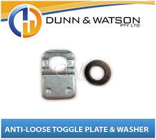 Anti Luce / Rattle Fastener (Caravan, Horse Float, Camper Trailer) Toggle Plate