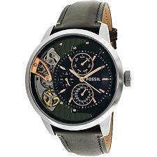 Fossil Men's Townsman ME1163 Brown Leather Quartz Fashion Watch