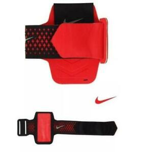 Nike Diamond Armband iPhone 5 5s 5c Red Black 81918 FAST SHIP! D27