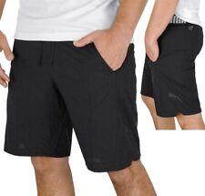 Puma caballero shorts pantalones de deporte entrenamiento físico pantalones bermudas corre pantalones Gym negro