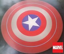 """MARVEL COMICS Captain America Shield collectible ! COMPUTER MOUSE PAD 8"""" round"""