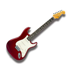 SX Ves62-car Vintage Electric Guitar 62 Style SSS Pro-scm Setup Candy Apple Red