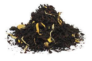 Caramel Cream Flavour Black Tea  - Loose Leaf Breakfast Tea - 60g - 80g