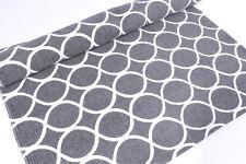 Tappeto runner 70X200 cotone motivo grigio natura corridoio Tiles grafica