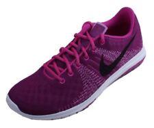 NIKE Flex Fury Shoes PS NIB PreSchool Size 10.5c / 27.5 $65 Purple Black Pink