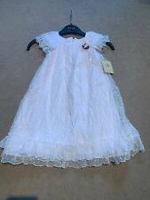 Laura Ashley  Girls Dress Wedding Christening Age 4