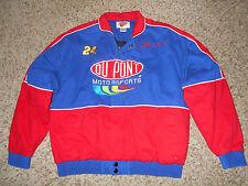 NASCAR - Dupont Motor Sports - Jeff G0RDON Zip-Up Winner's Circle Jacket #24- M