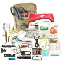 29 in 1 Survival Kit Bag Outdoor Camping Travel Hiking Hunters Emergency Tools