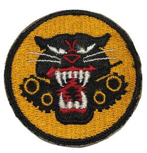 ORIGINAL WWII U.S. ARMY 4 VARIATION WHEELS TANK DESTROYER CUT EDGE PATCH