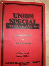 Union Special Needle Manual 52 Pages Collectible Free Shipping