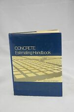 Concrete Estimating Handbook by Michael F. Kenny - Book - Hard Cover NonFiction