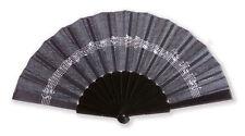 Vienna World Fan Line of Notes Black FAN - 23cm
