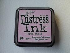 """TIM HOLTZ DISTRESS INK PAD SPUN SUGAR FULL SIZE 2"""" BNIP *LOOK*"""