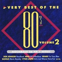 Very best of the 80's 2 Cyndi Lauper, Bangles, ELO, Sade, Journey, Nena.. [2 CD]