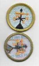 "Weather Merit Badge, Type L, ""Since 1910"" Back (2012-Current), Mint!"