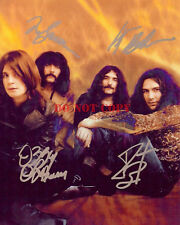 Black Sabbath (1969) Ozzy Osbourne Paranoid RARE EARLY PROMO SIGNED Reprint