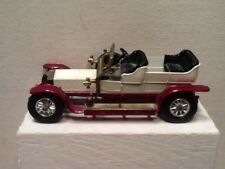 Matchbox Models of Yesteryear 1906 Rolls Royce Silver Ghost. White.