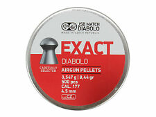 500 pcs JSB EXACT DIABOLO 4.52 mm .177  0.547 g 8.44 gr Airgun Air rifle Pellets